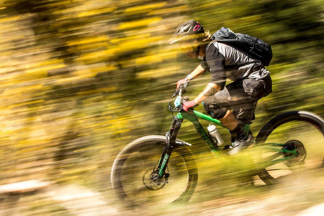 Juliana Bicycles - Anka Martin on Course at the Trans Provence