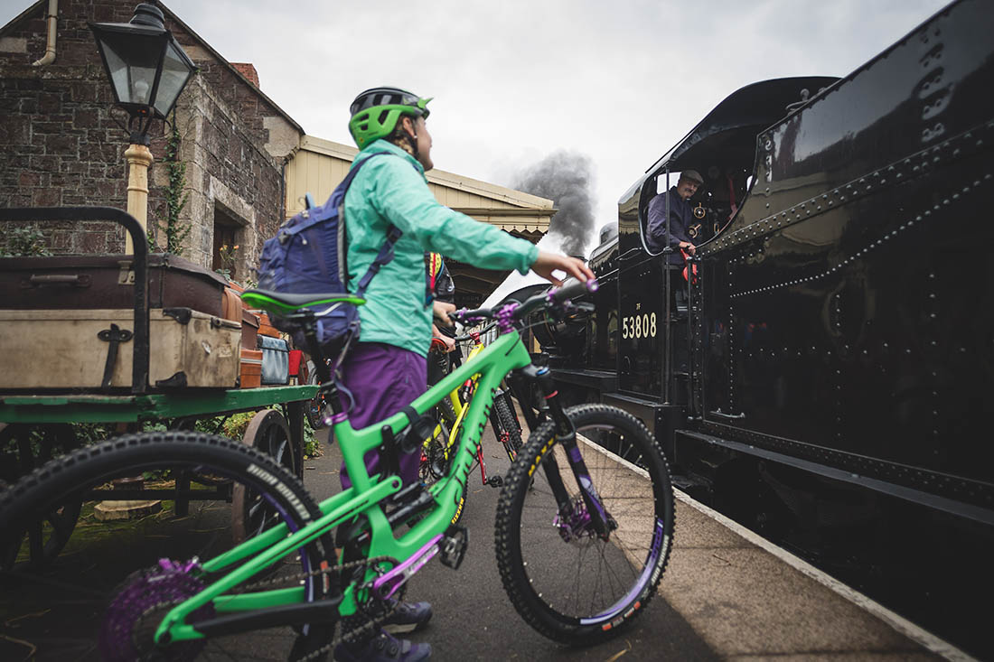 Juliana Bicycles - Taking the Train with Juliana Bicycles