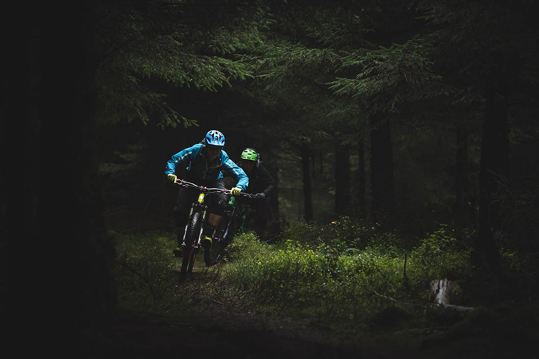 Juliana Bicycles - Riding Through the Dark of the Forest