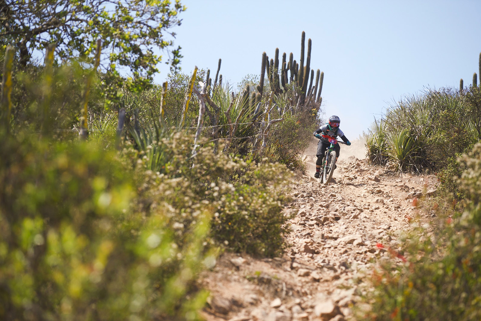 Juliana Bicycles - Jaime Hill Getting Loose and Going Fast at Andes Pacifico 2018