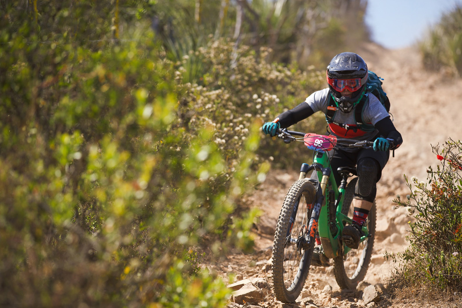 Juliana Bicycles - Plate 96, Jaime Hill at Andes Pacifico Enduro 2018